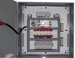 SSRC Emergency Lighting Transfer Panel